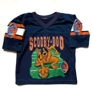 Vintage Kid's Scooby-Doo Football Jersey Size 7